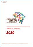 memoria de actividades 2020 Formación Senegal